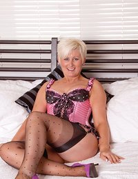 Honey blonde milf Sally..